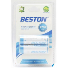 Аккумулятор BESTON AA 2700mAh Ni-MH 2шт